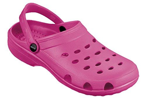 BECO Bade-Clogs f�r Damen Pink 40 -