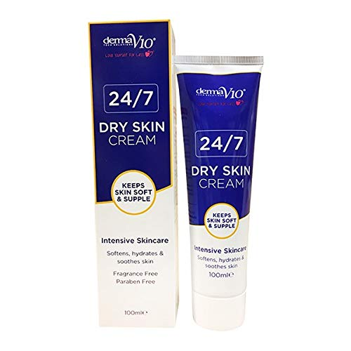 Derma V10 24/7 Unscented Dry Skin Cream (Extra Value Pack) 100ml