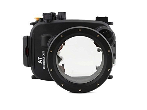 CameraPlus - Unterwasser digitalkamera - Unterwassergehäuse für SONY A7/A7R bis 40m Wasserdicht leicht bedienbar