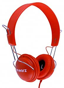 Casque Audio On-Earz Lounge Tomato