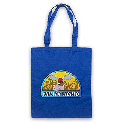 Inspiriert durch National Lampoon's Vacation Walley World Inoffiziell Umhangetaschen Blau
