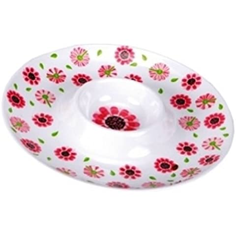 C.R. Gibson Lolita Chip and Dip Tray, Ooops-a-Daisy by C.R. Gibson