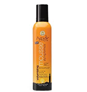 Agadir Argan Oil Volumizing Styling Mousse 8.5 Ounce