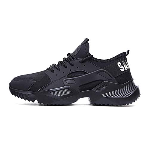 hibote Arbeitsschuhe Herren Sicherheitsschuhe Damen Leicht Atmungsaktiv Schutzschuhe Stahlkappe Sneaker Unisex
