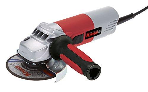 KRESS 1100 WSX 125 - AMOLADORA ANGULAR (50/60 HZ  220 - 240 V  2 2 KG) GRIS  ROJO