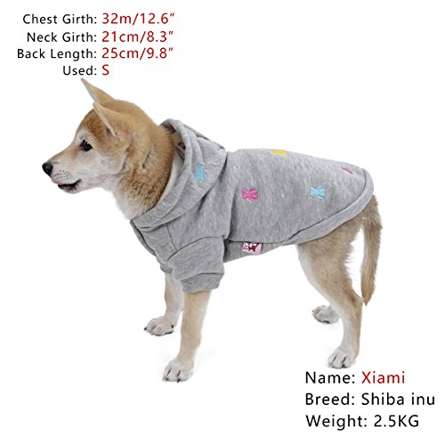 PAWZ Road Hundepullover Hoodie Mantel in vier Farben erhältlich - 2