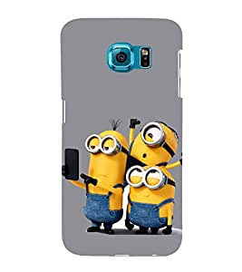 Funny Characters 3D Hard Polycarbonate Designer Back Case Cover for Samsung Galaxy S6 Edge+ :: Samsung Galaxy S6 Edge Plus :: Samsung Galaxy S6 Edge+ G928G :: Samsung Galaxy S6 Edge+ G928F G928T G928A G928I