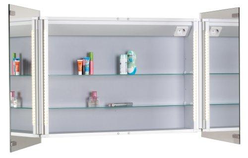 Mebasa Spiegelschrank vormontiert – 73,5 cm - 2
