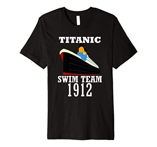 Titanic 1912 Ship Swim Team Vintage Distressed Tees - Swim-team T-shirts