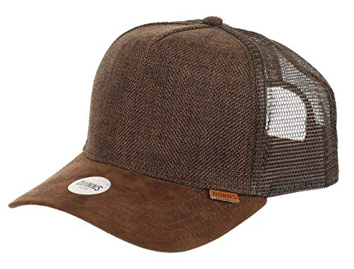 Djinns Suelin (dark brown) - Trucker Cap Meshcap Hat Kappe Mütze Caps