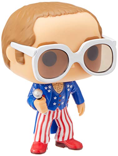 Funko Pop!- Rocks: Elton John Red, White, Blue (26295)