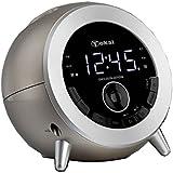 TOKAI - TC -139C - Radio Réveil - Bluetooth - Tuner Digital avec Présélection - port USB Champagner