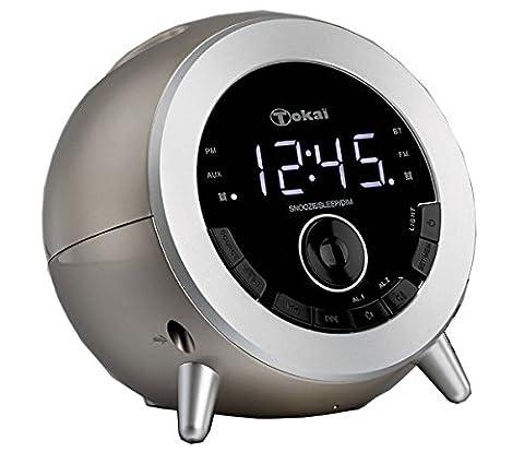 TOKAI - TC -139C - Radio Réveil - Bluetooth - Tuner Digital avec Présélection - port USB