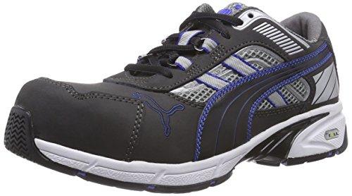 Composite-toe Sneaker (Puma Pace Sicherheitsschuhe S1P HRO SRA Nubukleder mit Sandwich-Mesh, Kunststoffkappe, flexibler Durchtrittschutz, Gummisohle, 42)