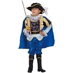 Dress Up America Costume Noble chevalier pour enfants bleu