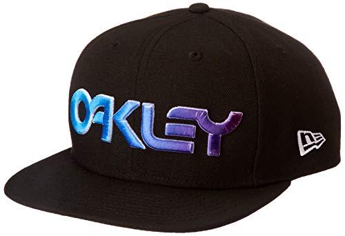 Oakley 912110-02E-M/L 6 Panel Gradient HAT Blackout M/L Baseballmütze