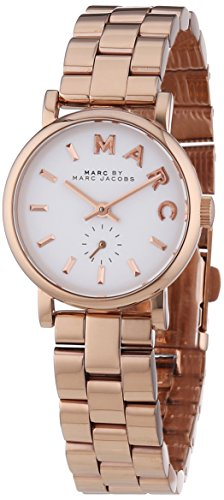 marc-jacobs-woman-womens-analogue-watch-with-white-dial-analogue-analogue-display-and-stainless-stee