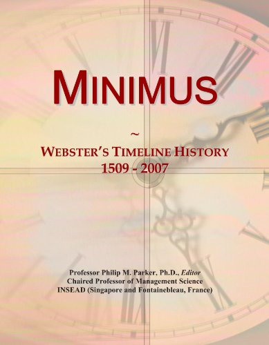 minimus-websters-timeline-history-1509-2007