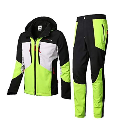 Regenbekleidung für Herren Damen Split Regenbekleidung Motorrad-Regenjacke Verdicken Sie Regenmantel Hosenanzug Sportbekleidung zum Warm halten Atmungsaktiv Schutzausrüstung