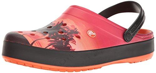 crocs Unisex-Erwachsene Cbndtropicsclg Clogs, Rot (Tangerine), 41-42 EU