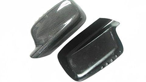 Carbon Fiber Mirror Covers For BMW 3 Series Cabriolet E46 2000-2007 318ci 320ci 323ci 325ci 330ci
