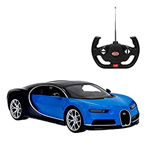 Rastar - Coche radiocontrol Bugatti Chiron, Ecala 1:14 (41250)