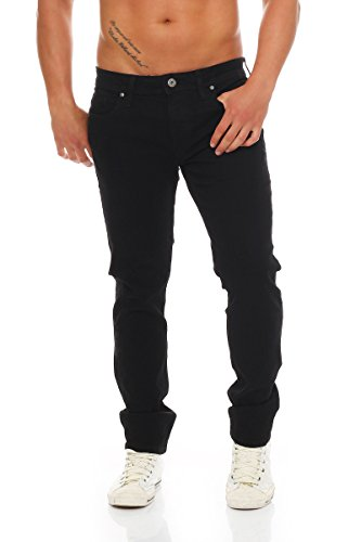 JJ TIM4 BLACK Jeans SC 298; Farbe: Black Denim; Größe: W31/34 (Hose Velvet Black)