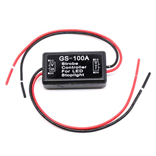 GS-100A Degital 12V-16V Car LED Brake Stop Light Lamp Flash Strobe Controller(None 1) ()