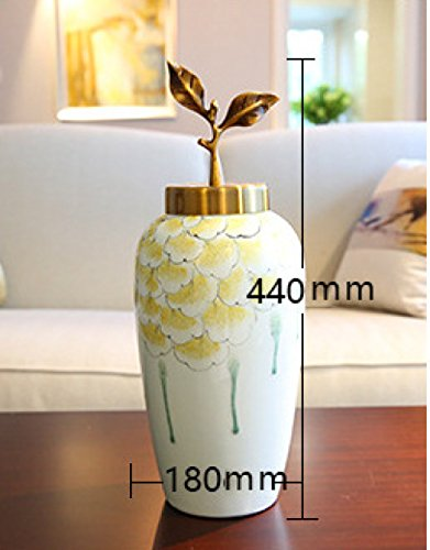 Keramische Vase Klassische Kreative Vase Wohnzimmer Wohnkultur Traditionelle Vase Handwerk Moderne Chinesische Traditionelle Handwerk,B
