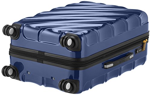 Shaik 7203094 Trolley Koffer, 2er Set (M, L), dunkelblau -