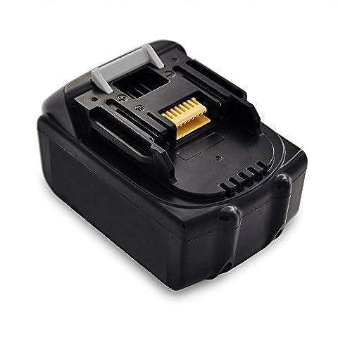 Forrat Für Makita Akku 18V 3.0Ah Li-ion Batterie Werkzeug ErsatzAkku BL1830 LXT-400 BL1840 BL1850