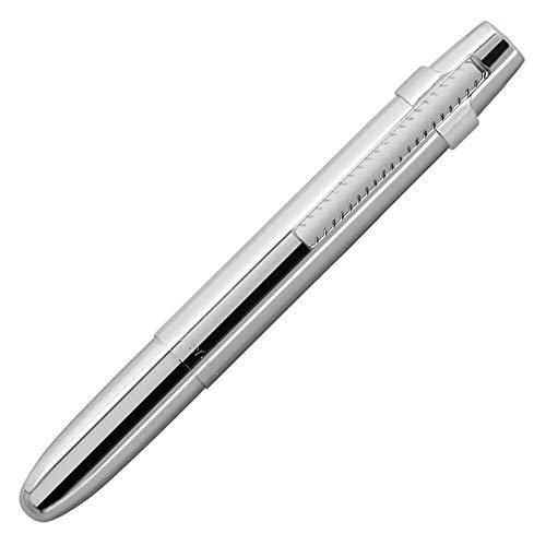 Fisher Space Pen X-Mark Platzstift, flach, verchromt, mit Clip, in Geschenkbox (400WCCL)