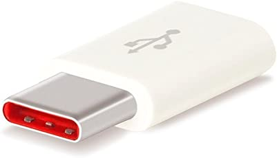 A2Z Shop USB Type-C to Micro USB Adapter-High Speed Charging Adapter Convertor Connector:: RED