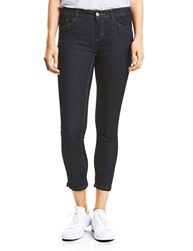 Street One Damen Slim Jeans A371489, Blau (Rinsed Wash 11445), W29