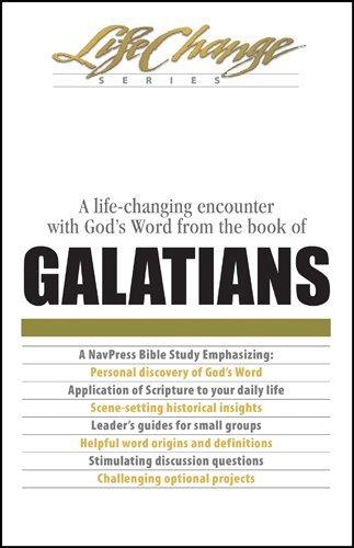 Galatians (LifeChange Book 15) (English Edition)