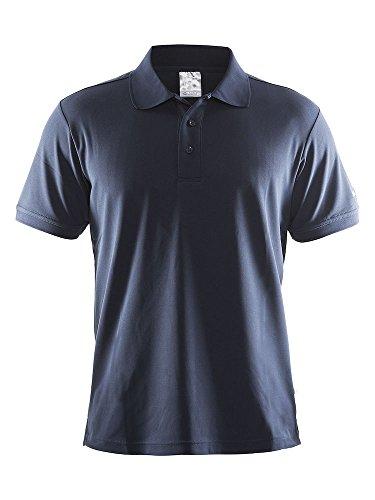 Craft Herren Polo Pique Classic Navy L Polohemd, -