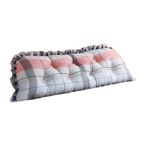 TBa-Z ZWD- Mädchen Kissen, helle Farben Baumwolle bequem eine Vielzahl von Stilen Kissen Kinderzimmer Mädchen Zimmer Doppelzimmer Kissen weich (Color : #4, Size : 140CM) - Farbton Cotton Liner