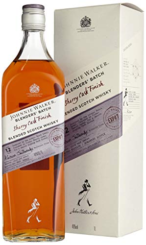 *Johnnie Walker 12 Years Old BLENDERS' BATCH Sherry Cask Finish mit Geschenkverpackung (1 x 1 l)*
