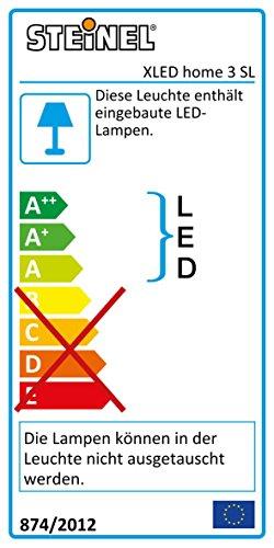 Steinel LED-Strahler XLED Home 3 Slave weiß, 4000K, ohne Sensor, 20 W, 1426 Lumen, schwenkbarer LED Fluter vernetzbar