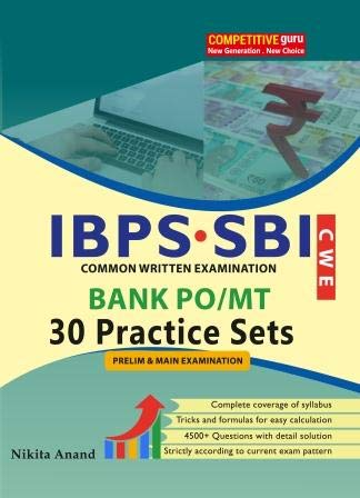 IBPS Bank PO / MT 30 Practice Set (Preliminary & Main)