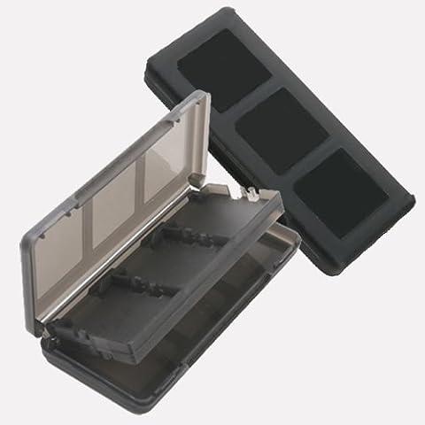 Homeking - Funda para guardar tarjetas de juego de Nintendo 3DS, DS, DS Lite, DSi y DSi XL (6 en 1), color