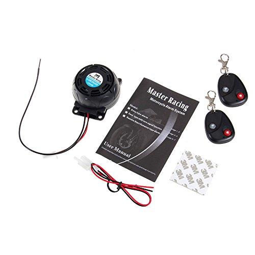 PolarLander Voiture Capteur de stationnement 4 capteurs /à retournement Automatique Radar de Sauvegarde D/étecteur de syst/ème Kit Alerte sonore Bibi sonore Indicateur dalarme DC 12V 56-Blanc