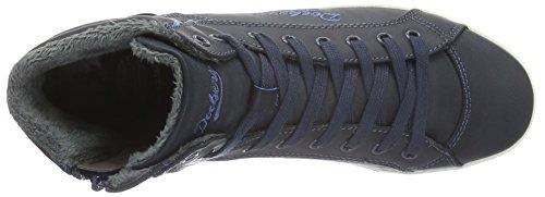 Dockers by Gerli 27ch323-620670, Scarpe da Ginnastica Donna Blu (Blau (dunkelblau 670))