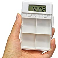 Xsj Intelligente Pillen Box Multifunktions-Wecker Grid Timer Erinnerung Fälle Splitter Medizin Organizer Gesundheitswesen... preisvergleich bei billige-tabletten.eu