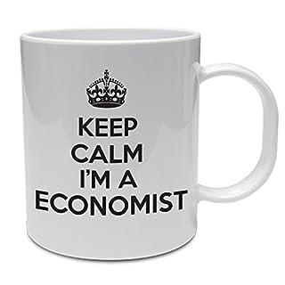 KEEP CALM I'Volkswirt Economics. M.-News Business