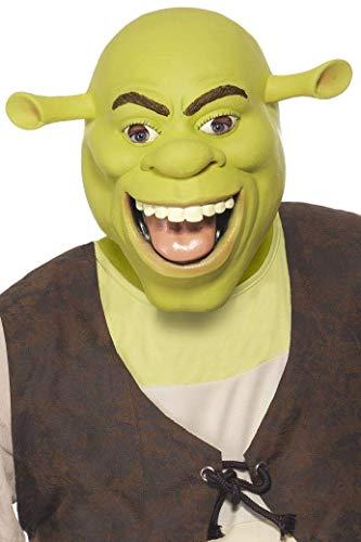 Shrek Latex-Maske, One Size Shrek Latex
