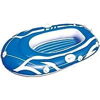 61050 Canotto gonfiabile Bestway di colore blu 155 x 93 cm per bambini e adulti. MWS