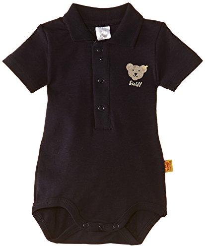 Steiff Unisex - Baby Body, Gr. 92 (Herstellergröße:86), Blau ( Marine)