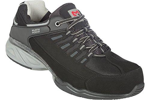 Aquila Basic S1P Sicherheitsschuh - Schuhe EN ISO 20345 S1P für Innenbereiche geeignet - Arbeitsschuhe mit Durchtrittschutz Schwarz
