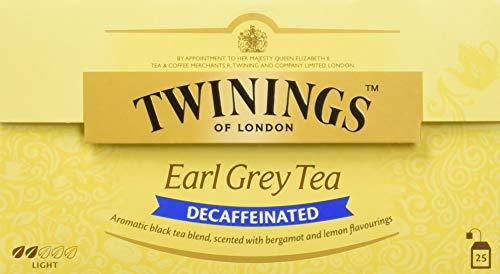 Twinings Of London Té Earl Grey Descafeinado - 25
